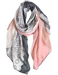 Amazon.fr   Multicolore - Foulards   Echarpes et foulards   Vêtements ce68258f7a8