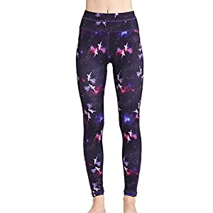 41IrVWMPGnL. SS300  - Women's Long Sports Leggings Running Tights High Waist Stretch Fitness Yoga Pants