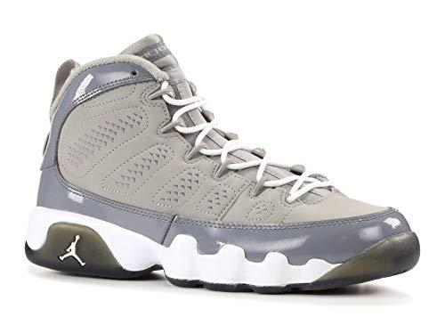 AIR Jordan 9 Retro (GS) 'COOL Grey 2012 Release' - 302359-015 - Size 36-EU (Jordan Retro 4 Große Kinder)