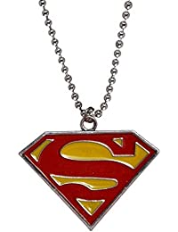Stylish Superman Inspired Alloy Pendant Locket For Mens