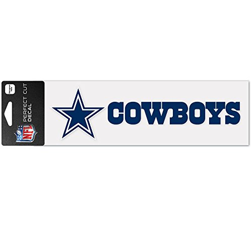 Wincraft Decal Sticker 8x25cm - NFL Dallas Cowboys (Aufkleber Cowboys Dallas)