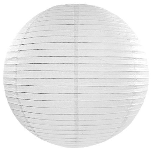 Lanterne Boule - Blanc x 35 cm - Taille Unique