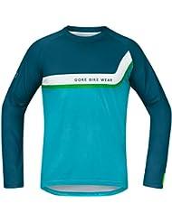 GORE BIKE WEAR Herren Langarm Mountainbike-Shirt Jersey, Super Leicht, Stretch, GORE Selected Fabrics, POWER TRAIL
