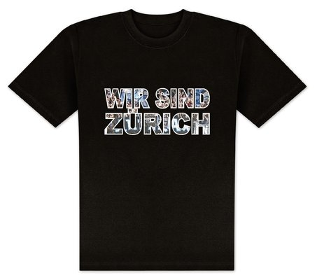 World of Football T-Shirt wir sind Zürich - S