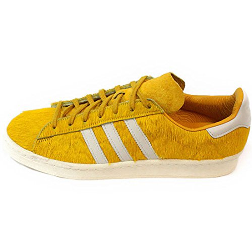 adidas Originals Campus 80S Schuhe Turnschuhe Sneakers Trainers Gelb st goldenrod / chalk white / cream white