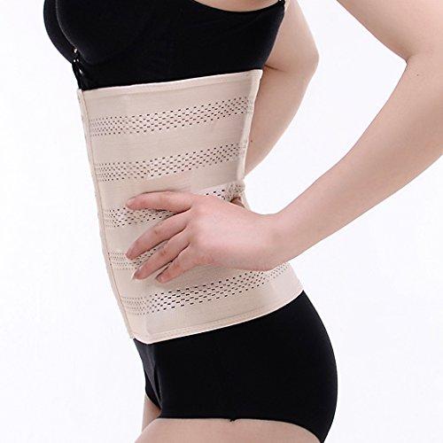 Gazechimp Taillenformer Damen Waist Trainer Korsett Unterbrust Taille Cincher Body Shaper Taillenmieder Hautfarbe