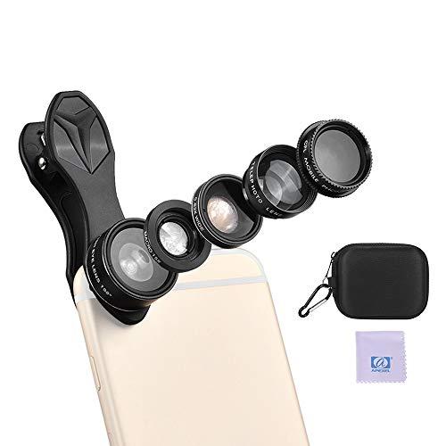 TOPTOO APEXEL APL-DG5H 5 1 Lente teléfono Celular