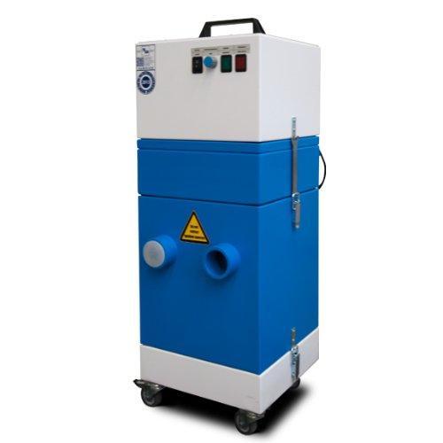 Mobile Hochvakuum-Absaug- und Filteranlage
