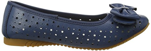 Spot On F80207, Ballerine Donna Blue (navy)