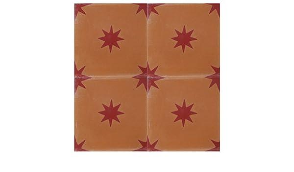 Zagora 4 mattonelle di cemento immagine modello per pavimento