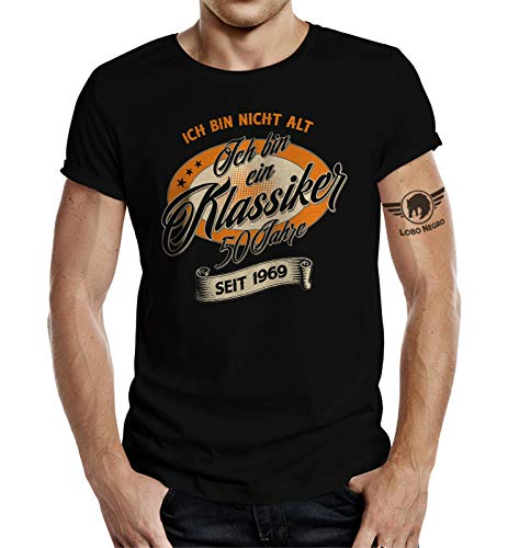 T-Shirt zum 50. Geburtstag: Ich Bin Nicht alt - Ich Bin EIN Klassiker L -