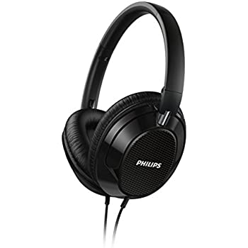 Philips Over-Ear FX3BK Headphone (Black)