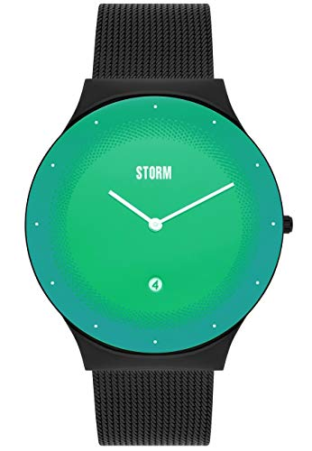 Storm Uhr Terelo Slate Green 47391/SL/GN Unisex flach Durchmesser 42mm
