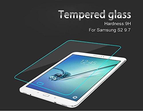 Hartglas Panzerglas Echt Glas Schutzfolie für Samsung Galaxy Tab S2 9.7 Zoll T810 T815