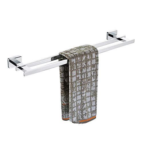 Handtuchständer Duschtuchhalter Handtuchhalter Handtuchhalter Bad Alle Bronze Barren Regal Silber European Style (Größe: 50CM)