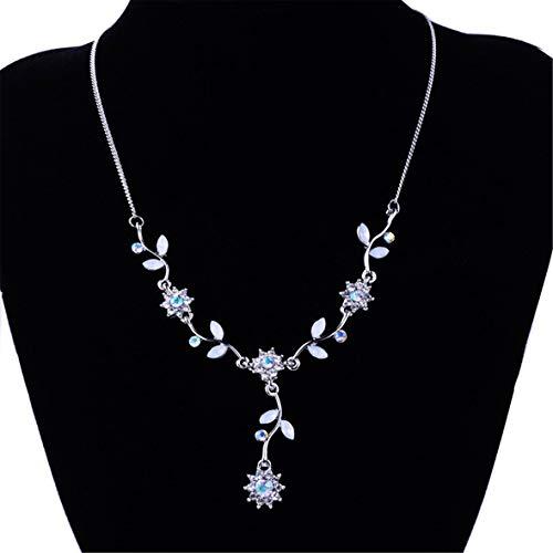 Monllack Exquisite vielseitige Halskette Version der kleinen Pflaume Kurze Halskette Clavicle Gift Girl