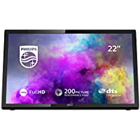 Philips 22PFT5303/05 22-Inch Full HD LED TV with Freeview HD - Black (2018/2019 Model)