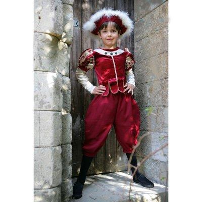 Tudor Boy - Kids-Kostüm - Größe: 3-5 Jahre [Spielzeug]