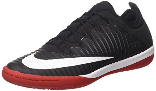 Nike Mercurialx Finale Ii Ic, Zapatillas de Fútbol para Hombre, Negro (Black/White/Univ Red/Dk Grey), 44 EU