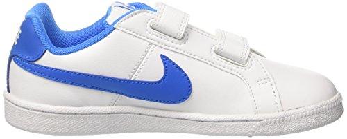 Nike Court Royale Psv, Scarpe da Ginnastica Bambino Bianco (White/Photo Blue)