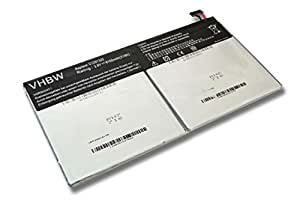 Batterie vhbw 8150mAh (3.8V) pour netbook pad tablette Asus Transformer Book T100, T100T, T100TA comme C12N1320, C12-N1320.