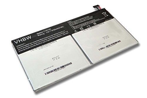 vhbw Li-Polymer Akku 8150mAh (3.8V) für Netbook Pad Tablet Asus Transformer Book T100, T100T, T100TA wie C12N1320, C12-N1320.
