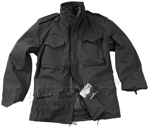 helikon-tex-us-army-military-m65-chaqueta-nyco-sateen-negro-parka-hombre-color-negro-tamano-xxl