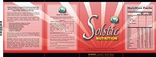 SOLSTIC NUTRITION DRINK MIX (30 sachets)