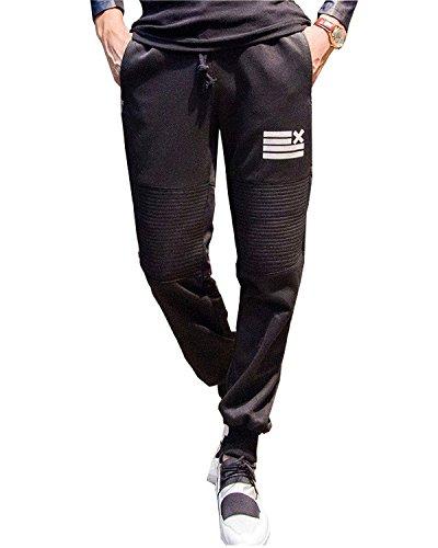 Minetom Pantaloni Da Jogging Da Uomo Sportivi Casual Danza Pantaloni
