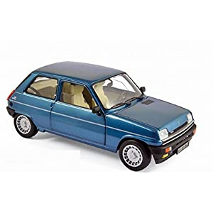 Miniature RENAULT 5 Alpine Turbo Bleu Navy 1981