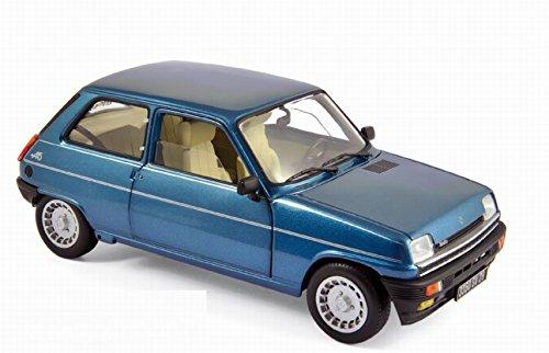 Miniature RENAULT 5 Alpine Turbo Bleu Navy 1981