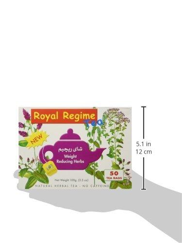 royal regime tea  ROYAL REGIME TEA 50 buste filtro