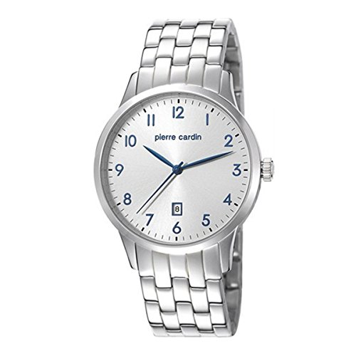 Pierre Cardin Reloj de hombre reloj de pulsera acero inoxidable pc106671F07