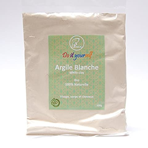 Poudre Blanche - BALLA - Argile blanche en poudre Bio