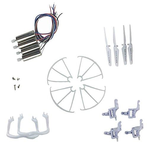 MagiDeal Set di 18 Pezzi Quadcopter Kit Ricambi per SYMA X5 X5C Drone Sostituzione