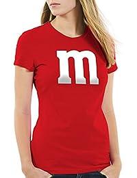 style3 m Damen T-Shirt für Fasching und Karneval Kostüm