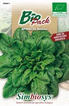 sementi biologiche per ortaggi in bustina ad uso amatoriale (spinacio matador)
