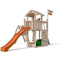 f0fee25061092c ISIDOR Joshy Spielturm mit erweitertem Schaukelanbau