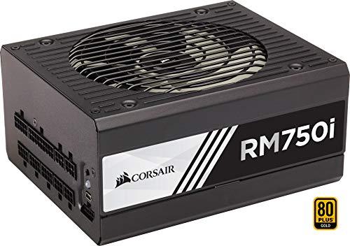 Corsair RM750i Alimentatore PC, Completamente Modulare, 80 Plus Gold, 750 W, Digital, EU