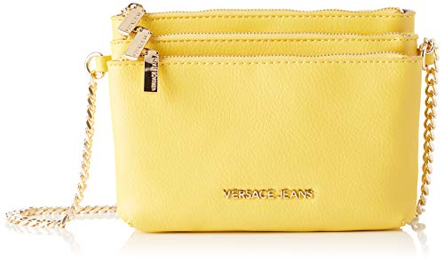 Versace Jeans Couture Damen Bag Umhängetasche, Gelb (Giallo), 8x15x20 centimeters