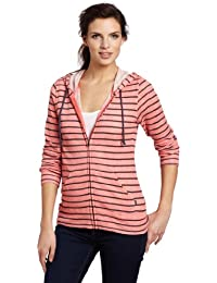 Oakley - Sweat à capuche -  Femme Rose Pink Black Striped