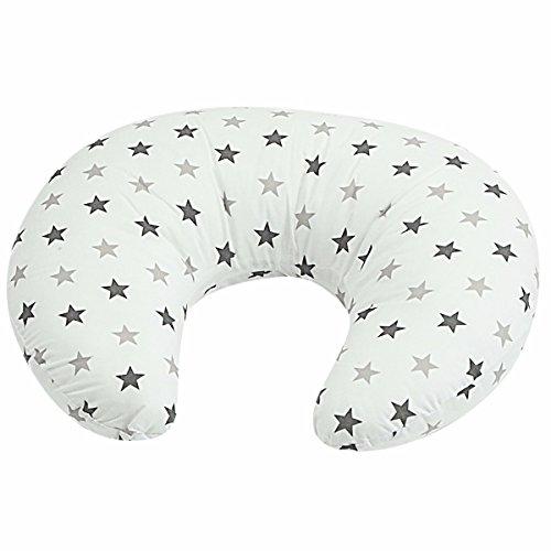 Breast Feeding Maternity Nursing Pillow Silver Twinkle