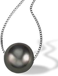 Goldmaid - Collier - Or blanc  - Perle - 45.0 cm - Pe C06236WG