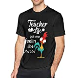 KDHRTI Camicie e T-Shirt,Thanksgiving Fam Men's Soft Short Sleeve T-Shirt Black