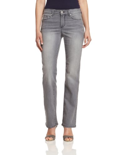 NYDJ Damen Straight Leg Jeans 26477PG/0251, Gr. 38 EU , Grau