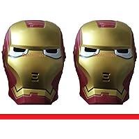 Bastekrace - Lámpara infantil led (2 unidades), diseño de máscara ...