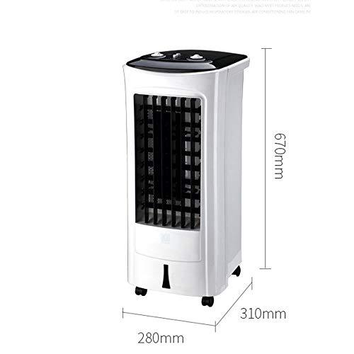 Ventilador de aire acondicionado único ventilador de refrigeración humidificación ventilador de refrigeración...