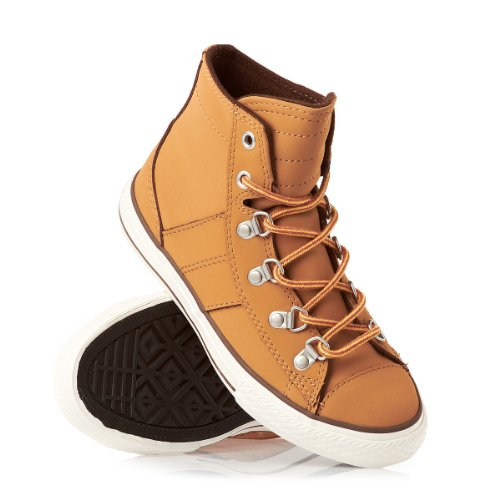 converse KIDS AS Sneaker Boot Hi LEATHER Marron