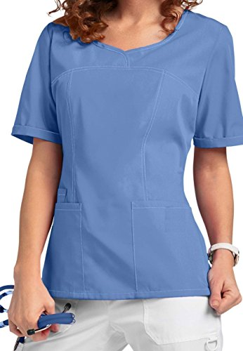 Smart Uniform V-Neck Modern Fit Scrub046 1121 (L, Ceil 1)