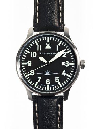 ARISTO Uhr - Messerschmitt Fliegeruhr Edelstahl mit Ronda Quarzuhrwerk - ME108-42S